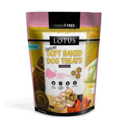Lotus Soft Baked Turkey & Liver Dog Treats