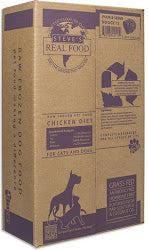 Steve's Real Food Chicken Frozen Raw Dog Food, Patties