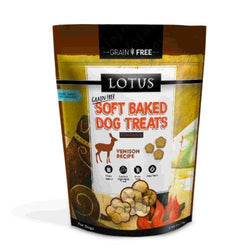 Lotus Soft Baked Venison Dog Treats