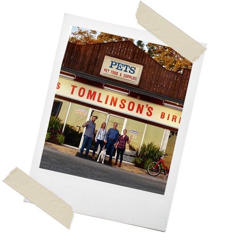 Two Generations of Click Family in Photo at Tomlinsons Store 2021