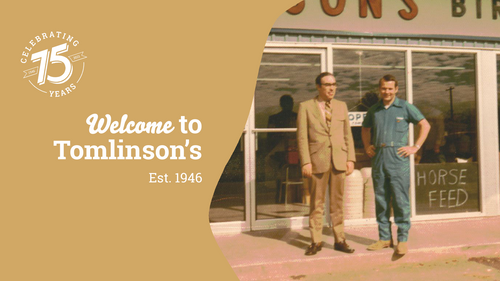 Welcome To Tomlinsons's Est. 1946
