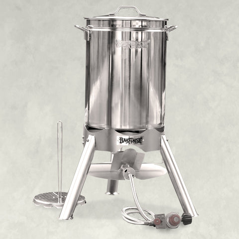 Bayou classic 200-440 44-qt Stainless Turkey Fryer Kit - BayouClassicShop