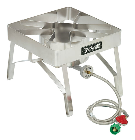 "Bayou Classic Stainless Brew Cooker, 16""x16"", 10 psi SS84  Cooker - BayouClassicShop"