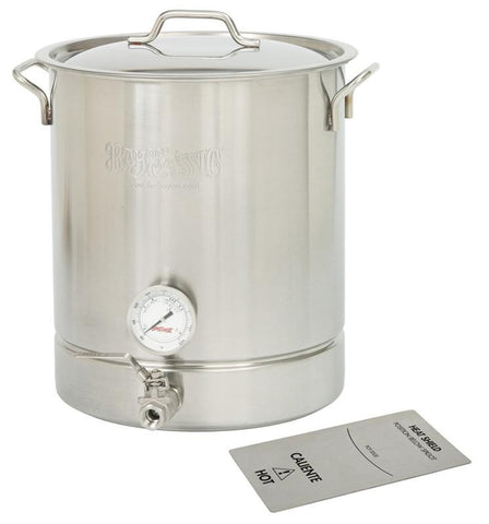 Bayou Classic 8-Gal. Brew Kettle Set, stainless, 32-Qt. 800-432  Kettle