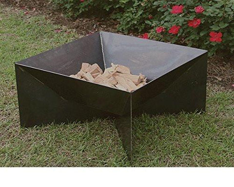 "Bayou Classic 24"" Fire Pit with side cutouts 900-524H  Fire Pit - BayouClassicShop"