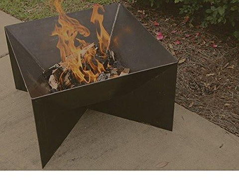 "Bayou Classic 36"" Fire Pit with side cutouts 900-536  Fire Pit - BayouClassicShop"