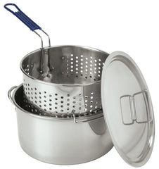 Stainless Steel Fry Pots