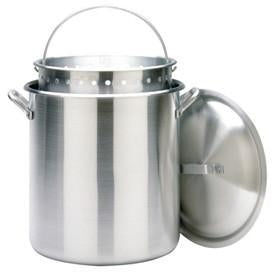 Bayou Classic 160 Quart Aluminum Stockpot And Basket Set - 1600 - BayouClassicShop