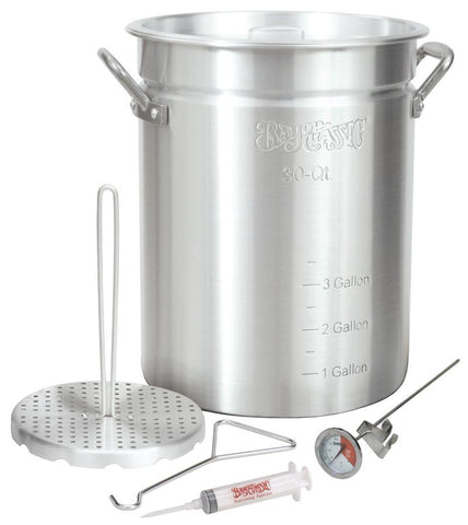 Bayou Classic 30 Quart Turkey Fryer Pot - Peazz.com