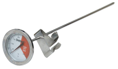 "Bayou Classic Stainless Steel Thermometer With 12"" Stem - Peazz.com"