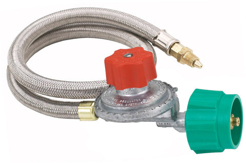 Bayou Classic 5 Psi Adjustable Regulator With 36 Inch Propane Hose - BayouClassicShop