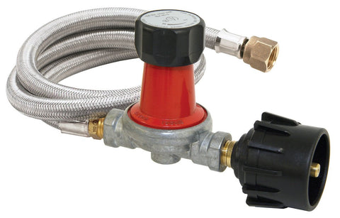 Bayou Classic 30 Psi Adjustable Regulator With 48 Inch Propane Hose - BayouClassicShop