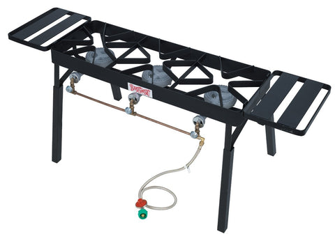 Bayou Classic Tb650 Triple Burner Patio Stove With Extension Legs - BayouClassicShop