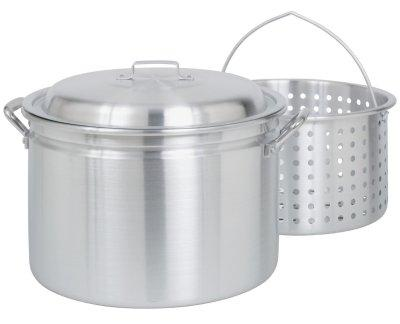 Bayou Classic 34 Quart Fryer / Steamer Stock Pot