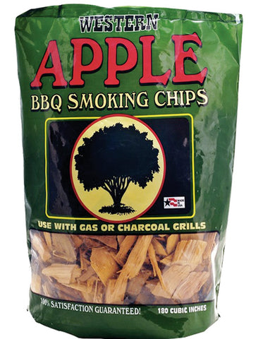 Bayou Classic Western Apple Smoking Chips - 2 Pound Bag - BayouClassicShop