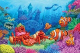 60 Piece Puzzle - Clown Fish Greeting