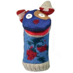 Hand Puppet Wool Dog