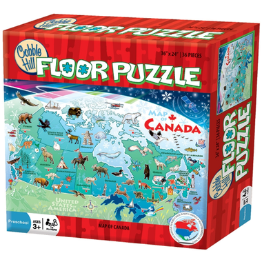 Floor Puzzle - Map of Canada