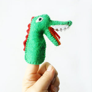 Finger Puppet - Crocodile