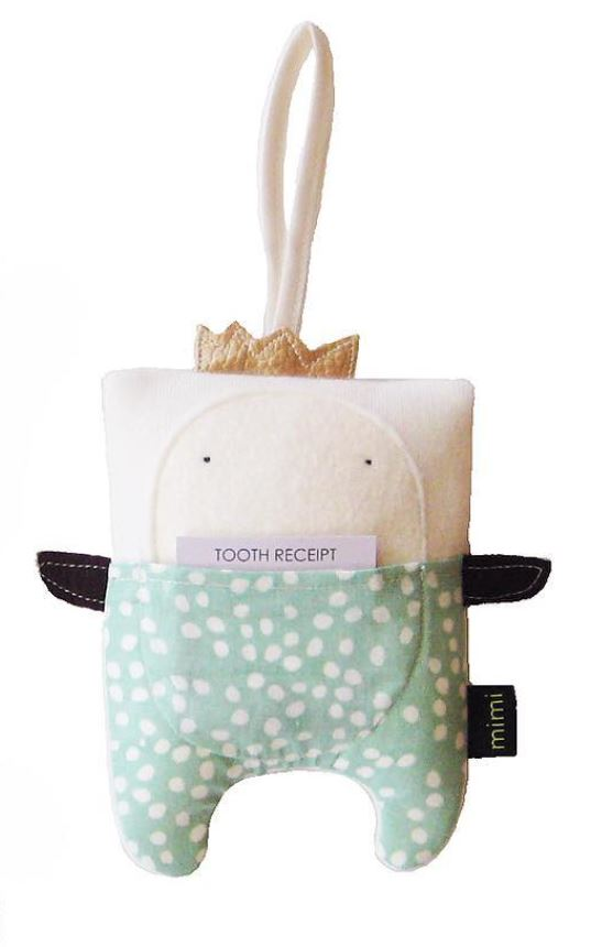 Organic Tooth Fairy Pillow