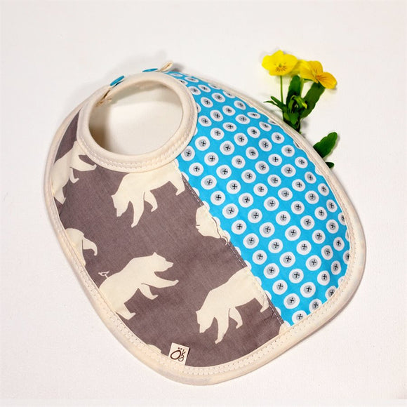 Absorbent Small Bib - Little Bear