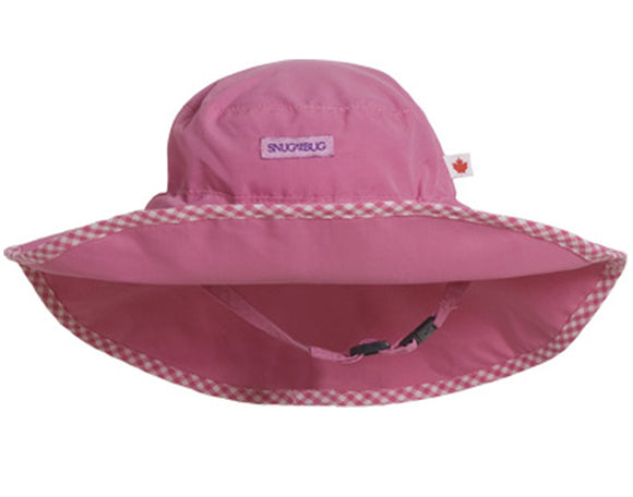 Adjustable Sun Hat (SPF 50+) - Pink