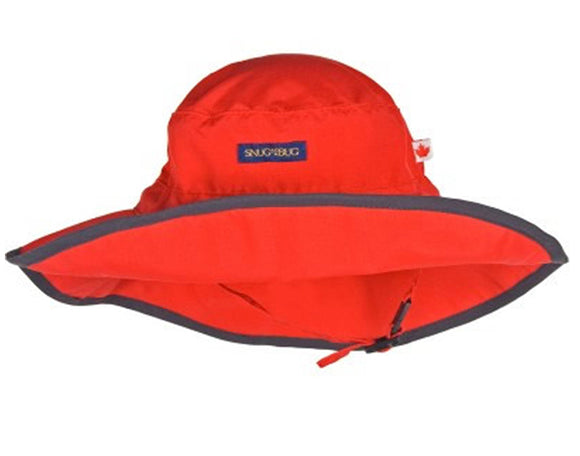 Adjustable Sun Hat (SPF 50+) - Red