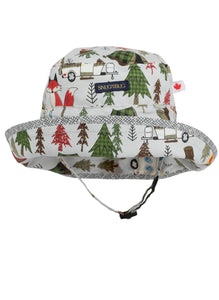 Adjustable Sun Hat - Deep Woods