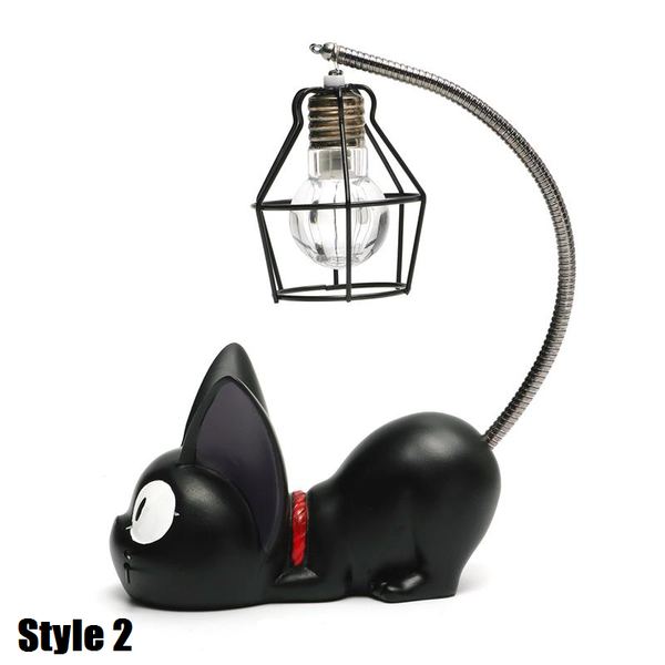 Black Cat Lamp