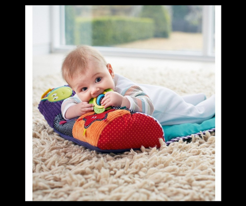 Colorful Baby Multifunctional Crawling Pillow