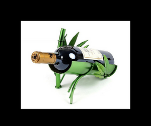 Decorative Bamboo Wine Bottle Holder