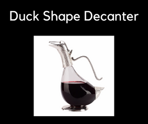 Lovely Duck shape decanter