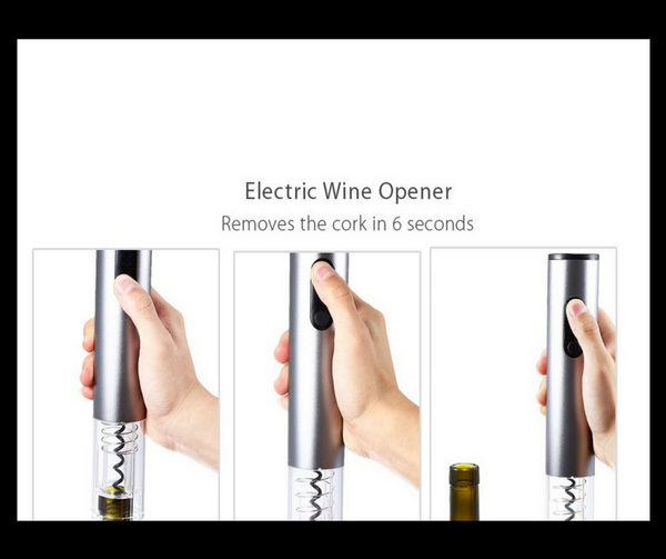 4pcs/Electric Wine Opener Set