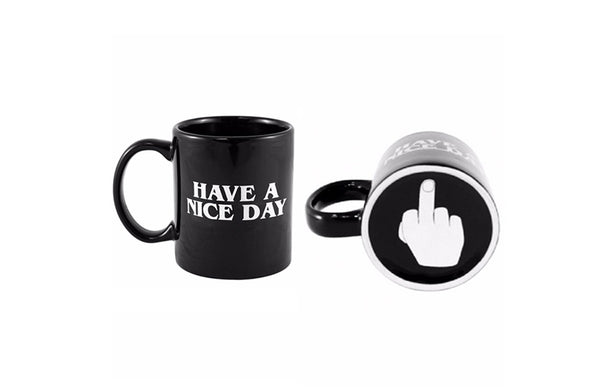 Creative Have a Nice Day Coffee Mug