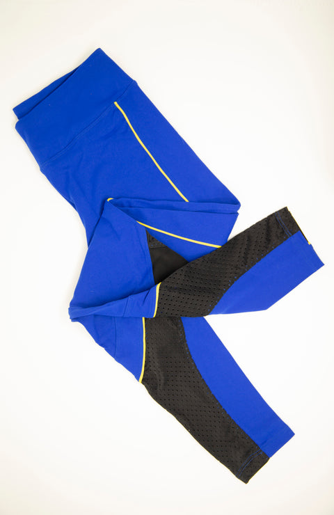 CLOSE QUARTERS COBALT LEGGINGS