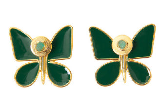 2 in 1 BUTTERFLY EFFECT EARRINGS