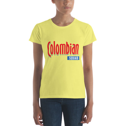 EXCLUSIVE! Colombian squad Women's short sleeve t-shirt