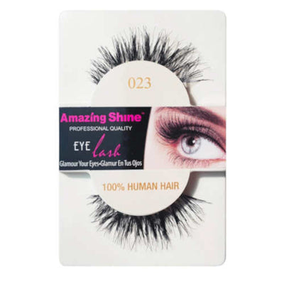 Amazing Shine Human Hair False Eyelashes 23