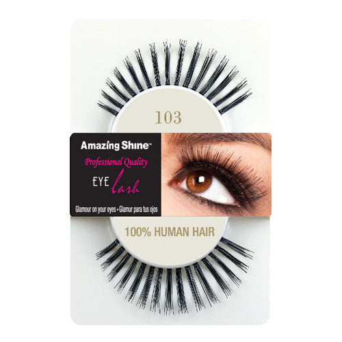 Amazing Shine Human Hair Eyelashes 103