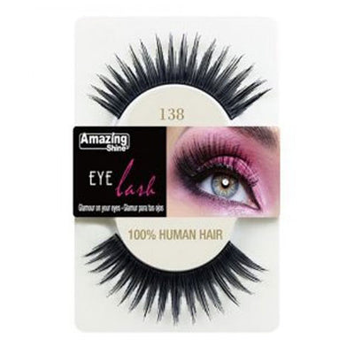 Amazing Shine Human Hair Eyelashes 138