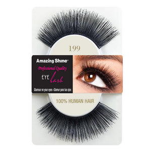 Amazing Shine Human Hair Eyelashes 199