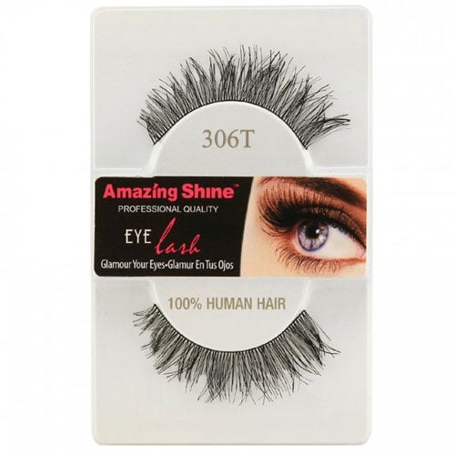 Amazing Shine Human Hair Eyelashes 306T