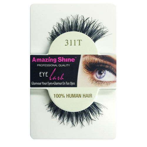 Amazing Shine Human Hair Eyelashes 311T