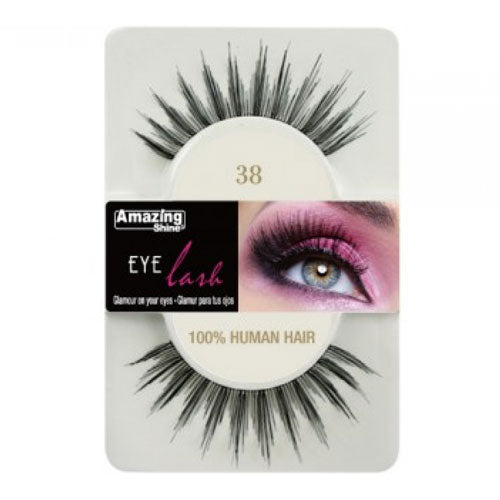 Amazing Shine Human Hair Eyelashes 38