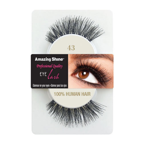 Amazing Shine Human Hair False Eyelashes 43