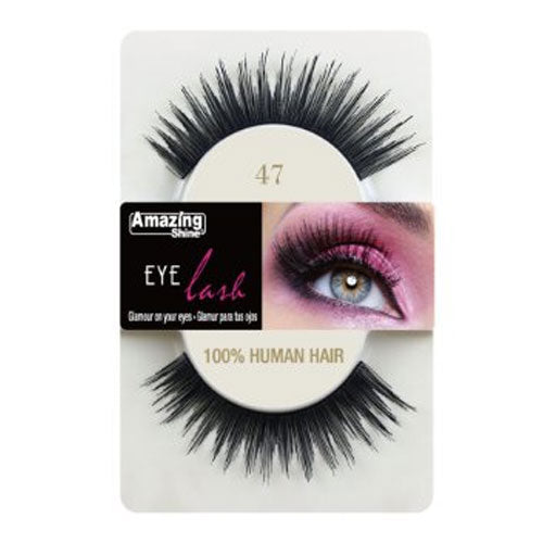 Amazing Shine Human Hair Eyelashes 47