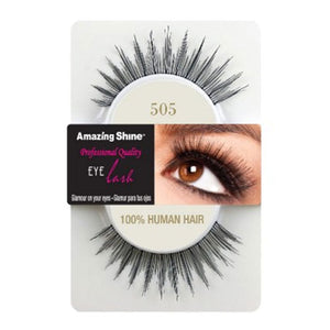 Amazing Shine Human Hair Eyelashes 505