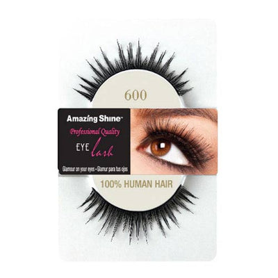 Amazing Shine Human Hair False Eyelashes 600