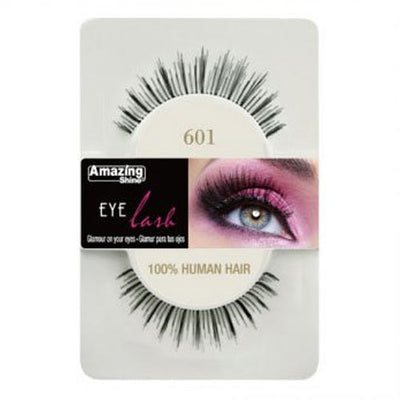 Amazing Shine Human Hair Eyelashes 601