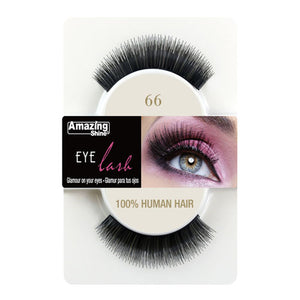 Amazing Shine Human Hair Eyelashes 66